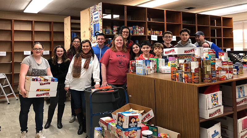 Bellmore-Merrick CHSD Expands Food Pantry photo