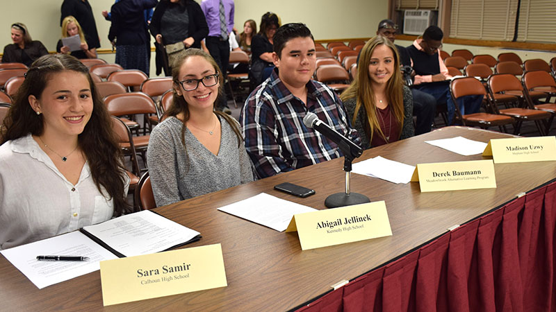 Student Board Reps Kick Off School Year