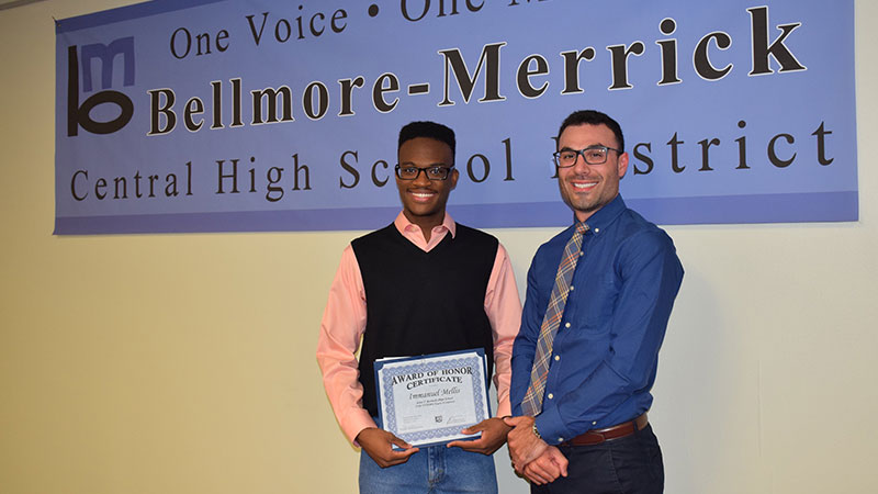 Mepham's Immanuel Mellis Named 2016 Young Composer