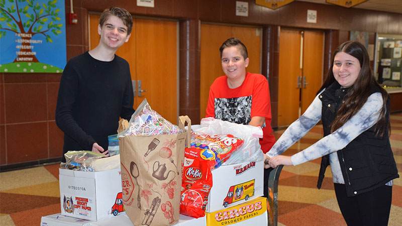 Merrick Avenue Hits Sweet Spot With Candy Donations For Troops