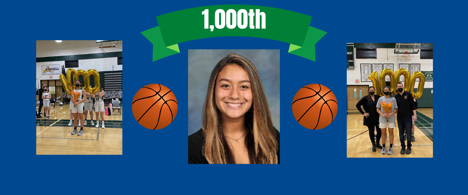Kennedy's Cameron Montalbano Nets 1,000th Career Point