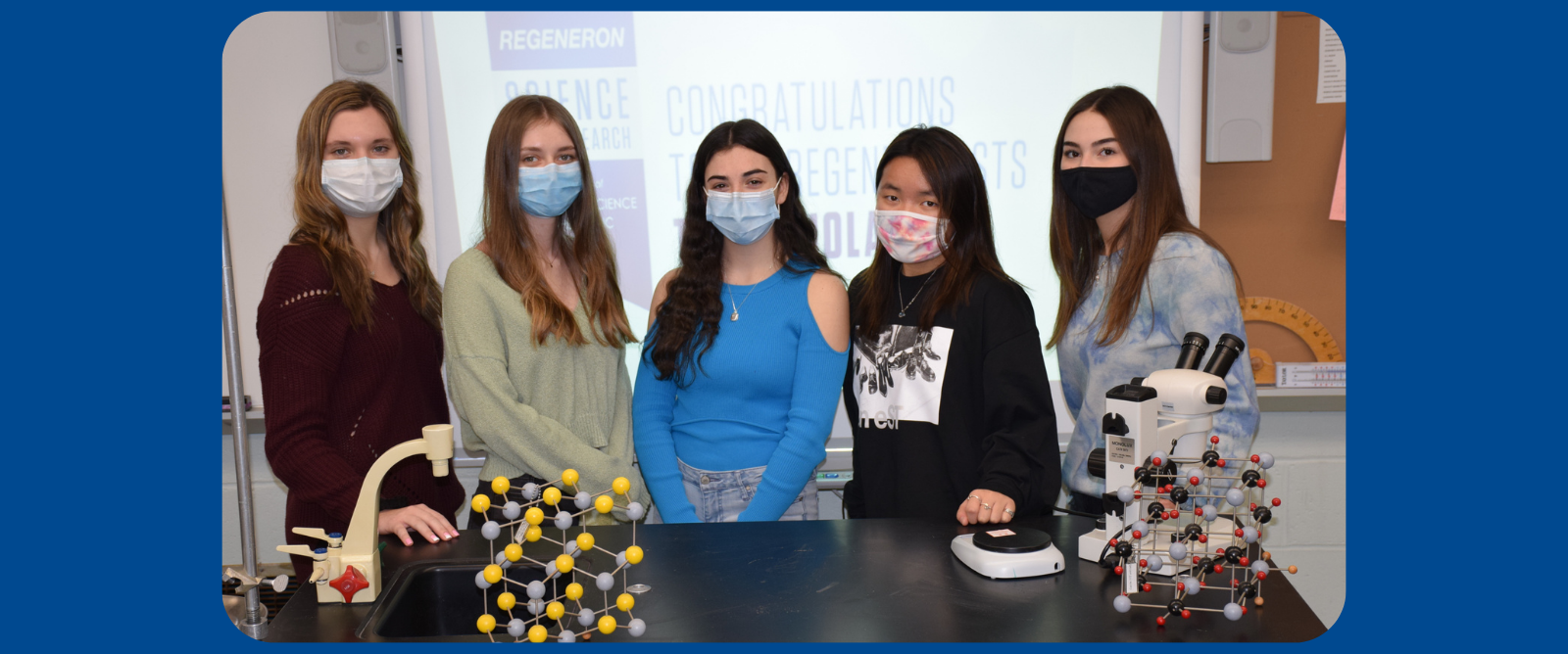 Five Kennedy Students Named Regeneron Semifinalists