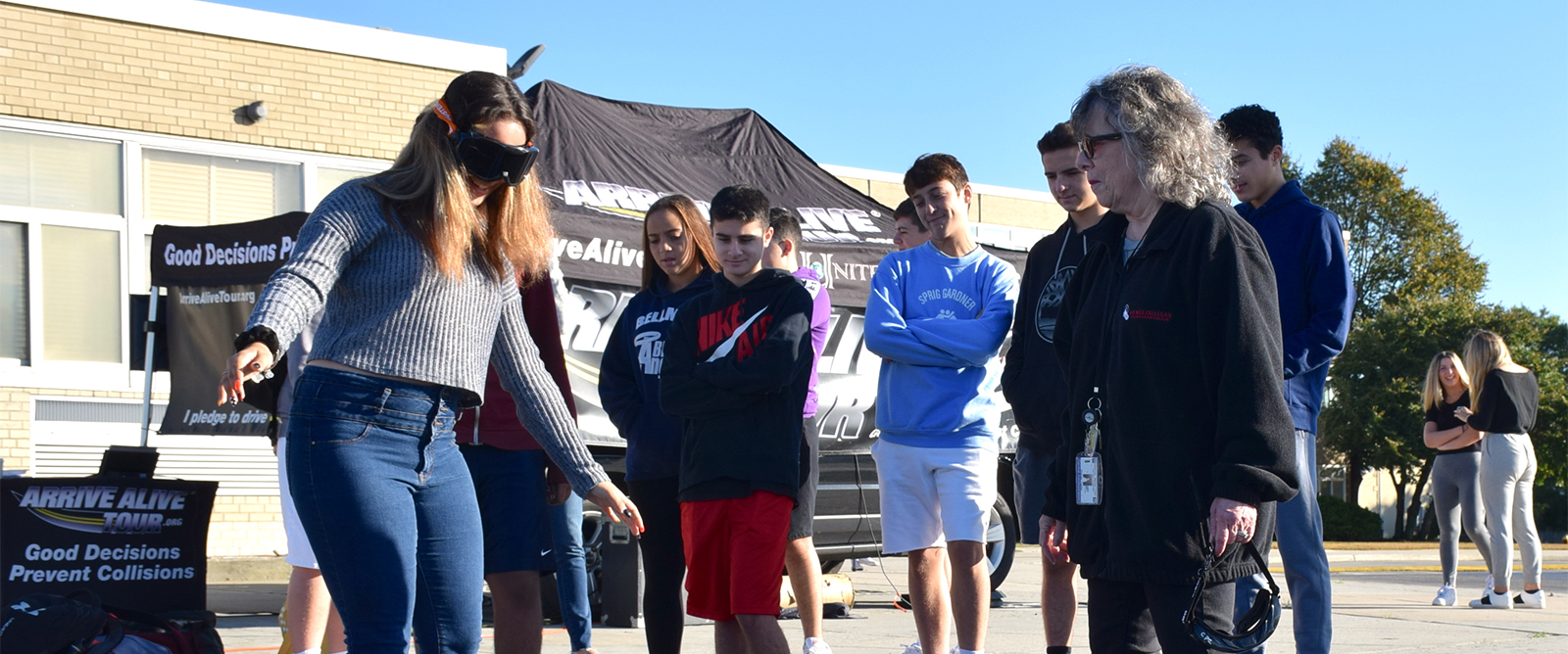 Kennedy Students Learn How to 'Arrive Alive' photo