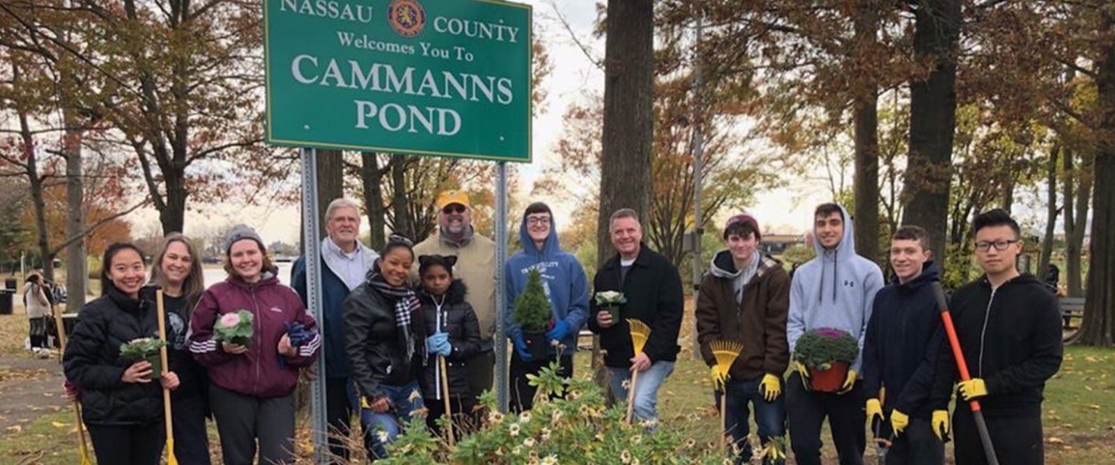 Kennedy Sudents Assist With Community Clean Up
