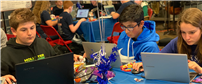 Bellmore-Merrick Middle Schools Hack Squad Competes at Long Island Event photo